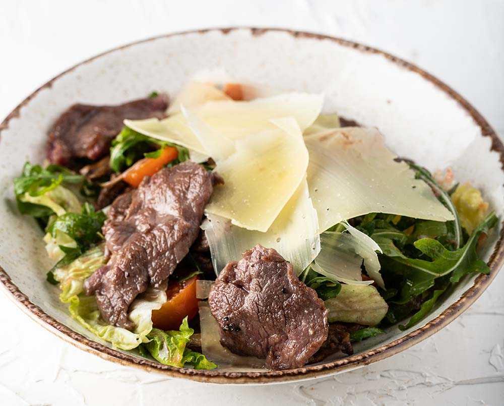 Салат король - 6 рецептов с говядиной, свеклой, с фото