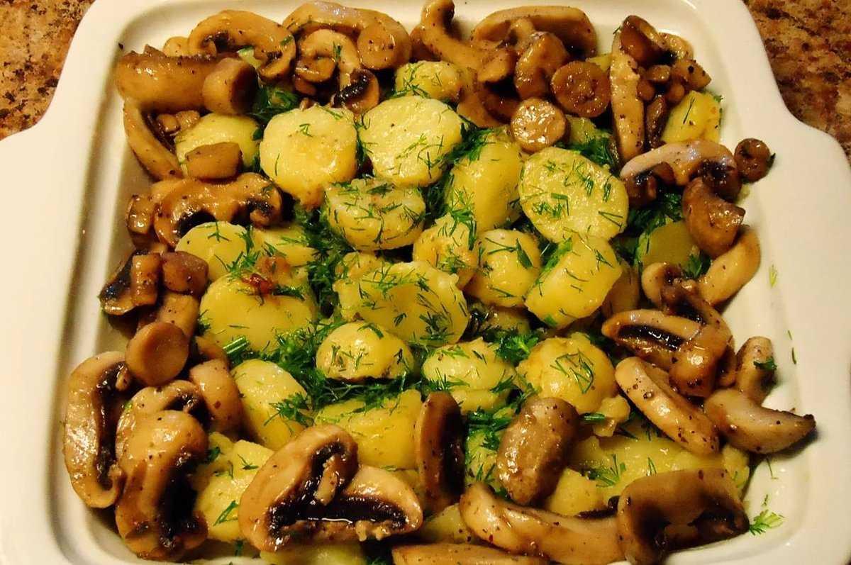 Жареные опята с картошкой: рецепт и советы по приготовлению
