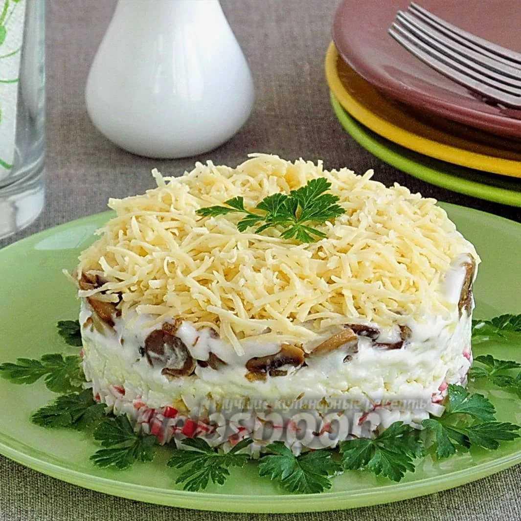 Салат ежик с курицей: рецепт с фото пошагово