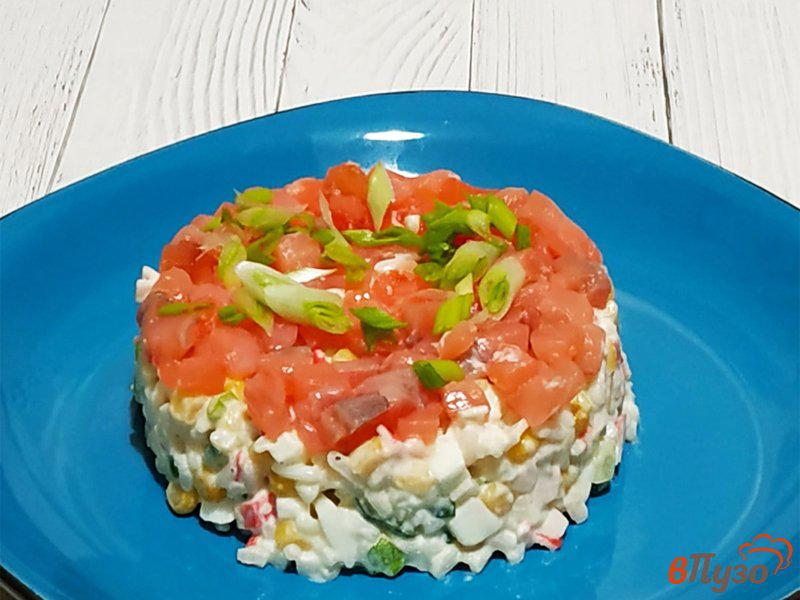 Рецепт праздничные салаты с семгой и форелью – 5 лучших рецептов