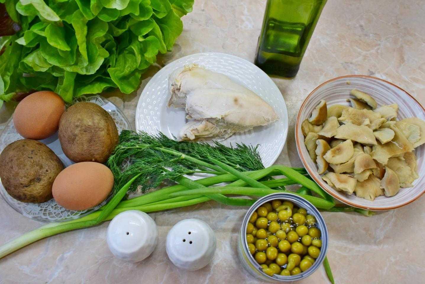 Слоёный салат с курицей на праздник рецепт с фото пошагово и видео - 1000.menu