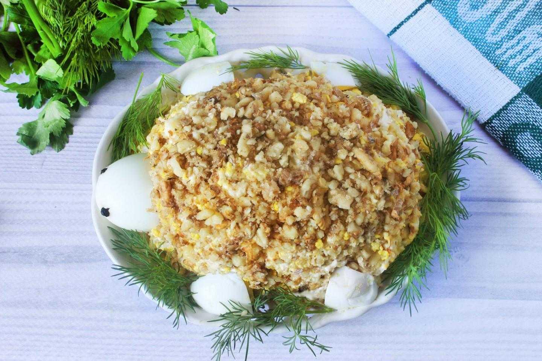 Готовим салат с курицей и грецкими орехами зуб дракона: поиск по ингредиентам, советы, отзывы, пошаговые фото, подсчет калорий, удобная печать, изменение порций, похожие рецепты
