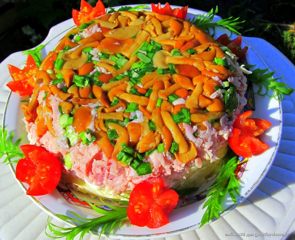 Вкусные салаты на день рождения: 36 лучших рецептов