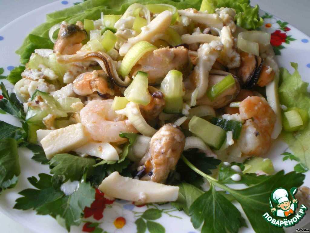 Салат морская звезда » рецепты - готовим дома | «наобед.kz»