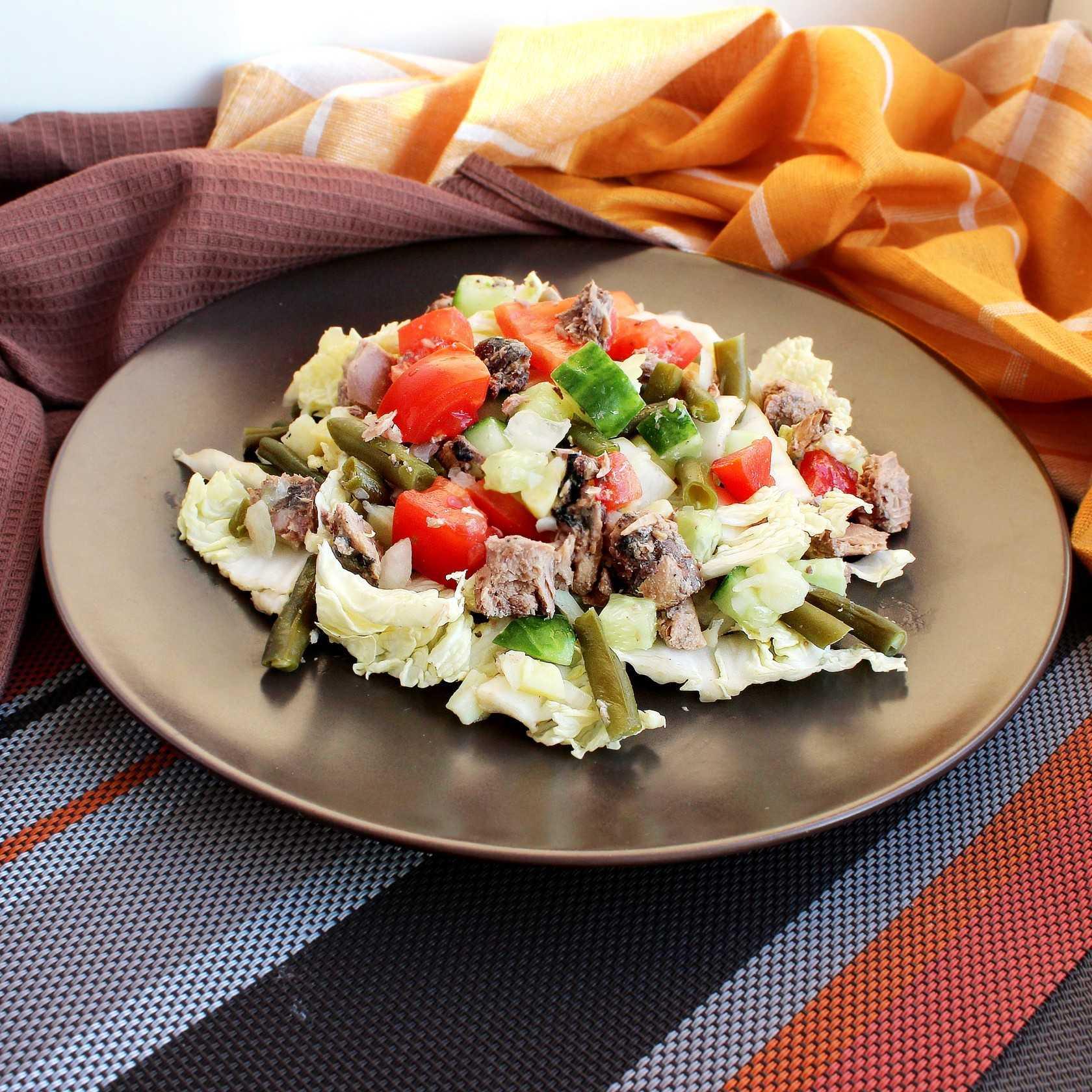 Салат с тунцом консервированным – топ лучших рецептов, самые вкусные и быстрые + фото