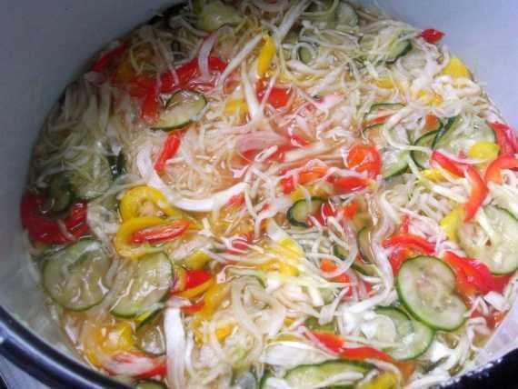 Венгерский салат: рецепт с фото