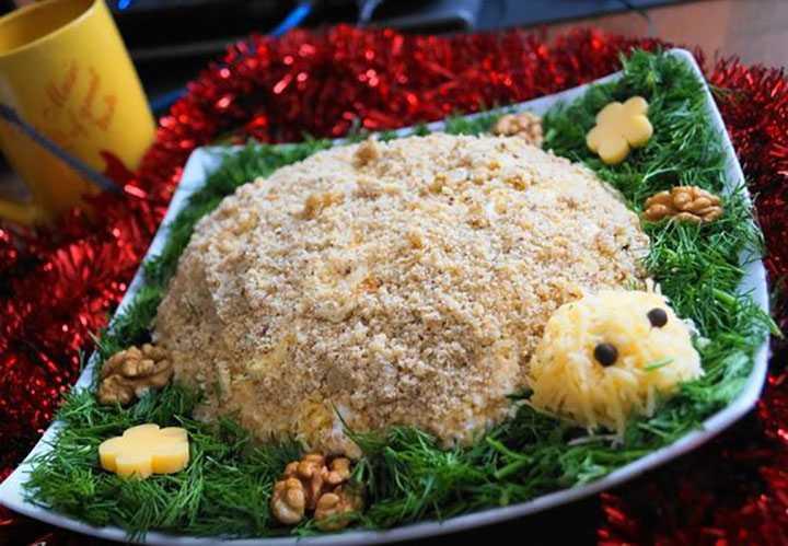Салат черепаха с курицей - вкусно и оригинально: рецепт с фото и видео