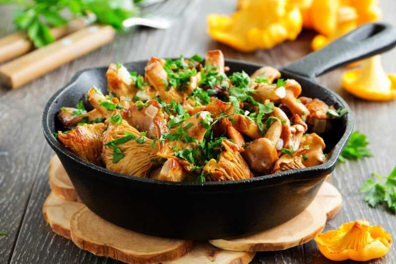 Лисички с мясом и картошкой пошаговый рецепт быстро и просто от натальи даньчишак