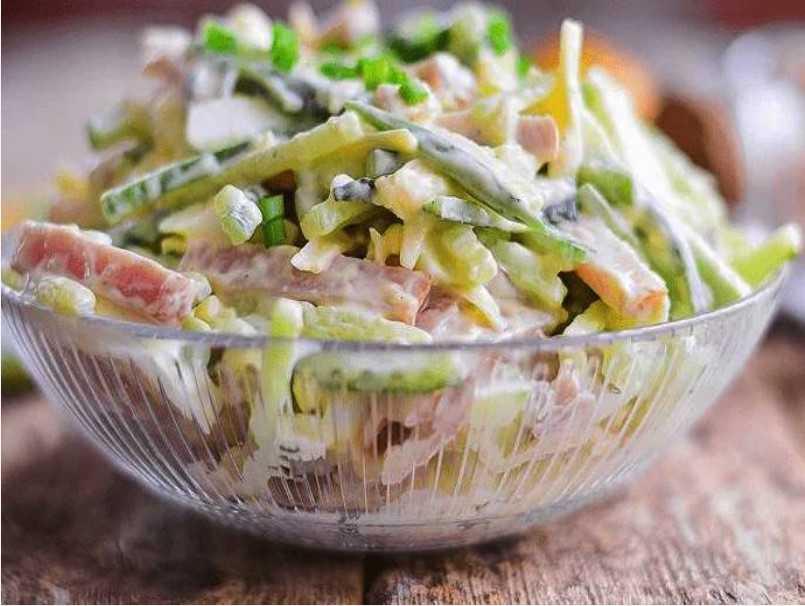 Нежность салат классический от елены
