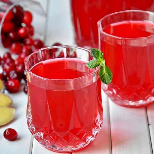 Полезный и лечебный клюквенный морс: 18 рецептов из замороженных ягод