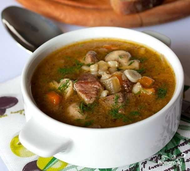 Суп грибной с вермишелью - рецепты с шампиньонами, сушеными и лесными грибами