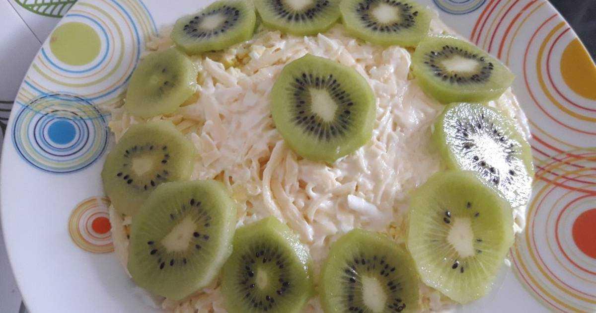 Салаты с киви — самые вкусные праздничные рецепты
