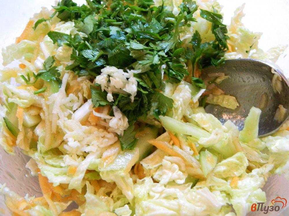 Салаты из пекинской капусты – самые вкусные и простые рецепты