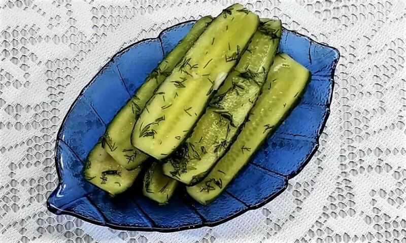 Малосольные огурцы быстрого приготовления - популярные рецепты