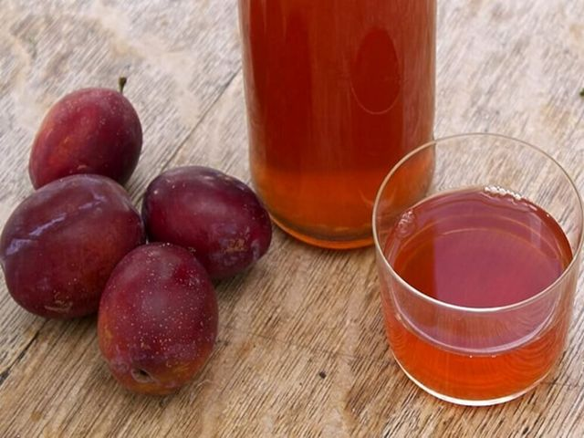 Вино из сливы в домашних условиях - пошаговый рецепт