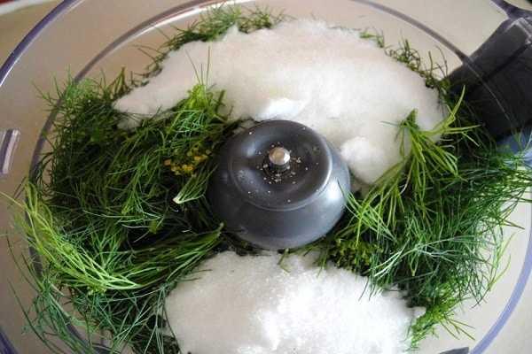 Как засолить зелень на зиму