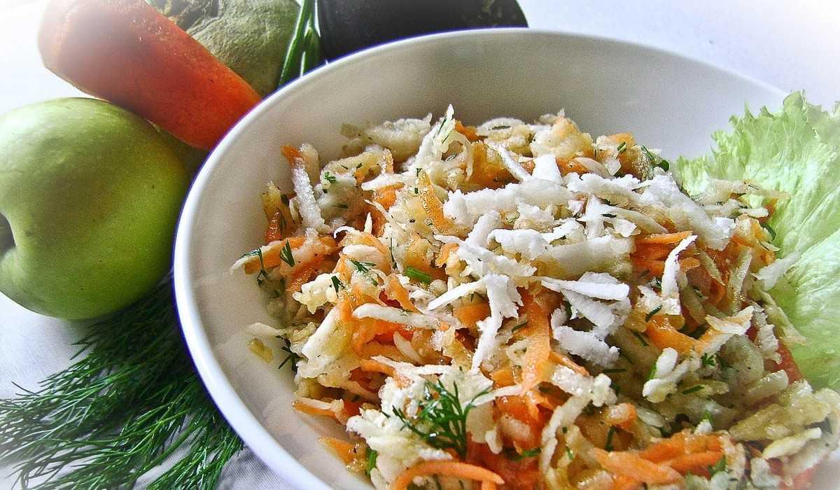 Салат из редьки – 7 обалденных рецептов с фото