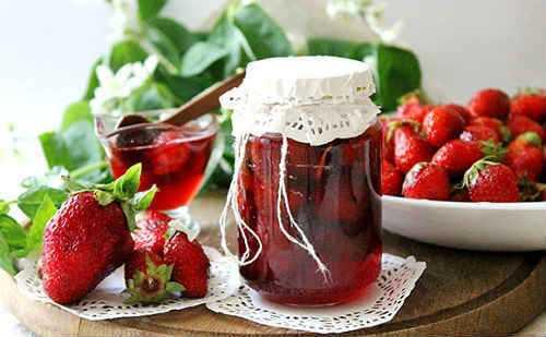 Варенье из клубники с целыми ягодами, рецепты