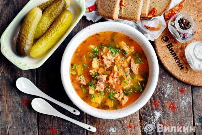 Как приготовить рассольник с рисом и солеными огурцами: лучшие рецепты супа