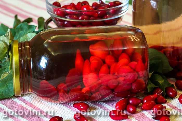 Рецепт приготовления вкусного компота из кизила на зиму