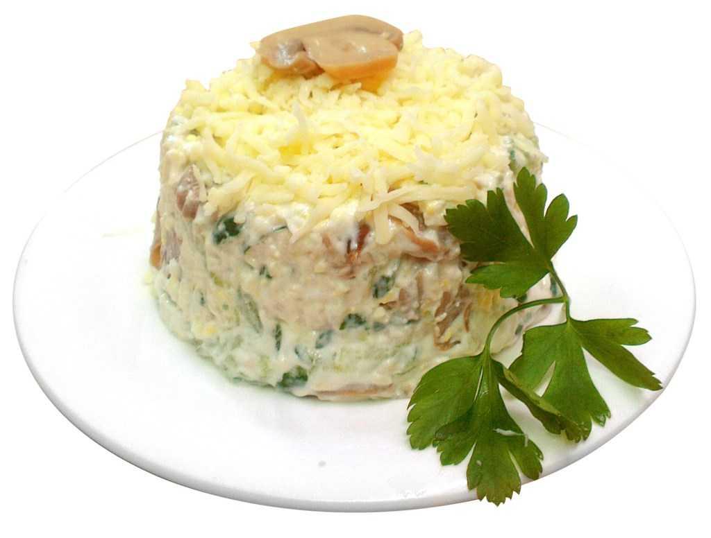 Салат с курицей и огурчиками рецепт с фото пошагово - 1000.menu