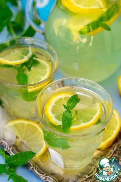 Лимонад в домашних условиях из лимона и мяты: рецепты с фото пошагово