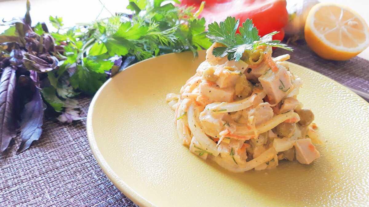 Салат «купеческий» с курицей - классический пошаговый рецепт с фото быстро и просто от алены каменевой