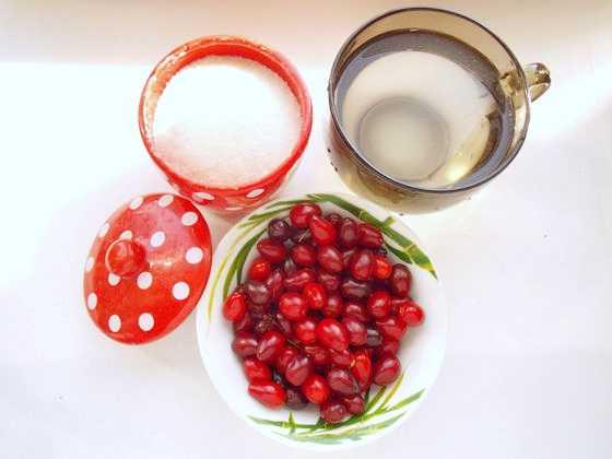 Рецепты приготовления компота из кизила