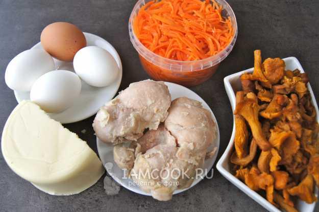 Салат «лисья шубка»: рецепты