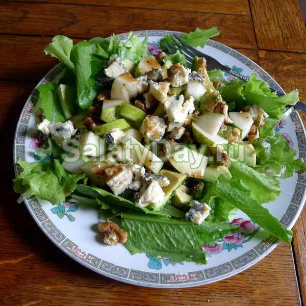 Салат из авокадо с курицей рецепт с фото пошагово и видео - 1000.menu