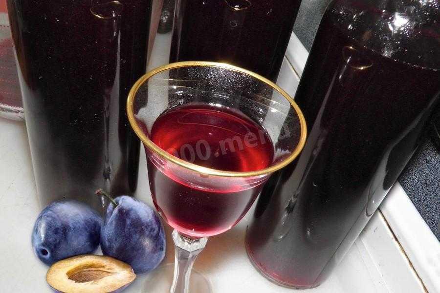 Вино из сливы в домашних условиях: простой рецепт