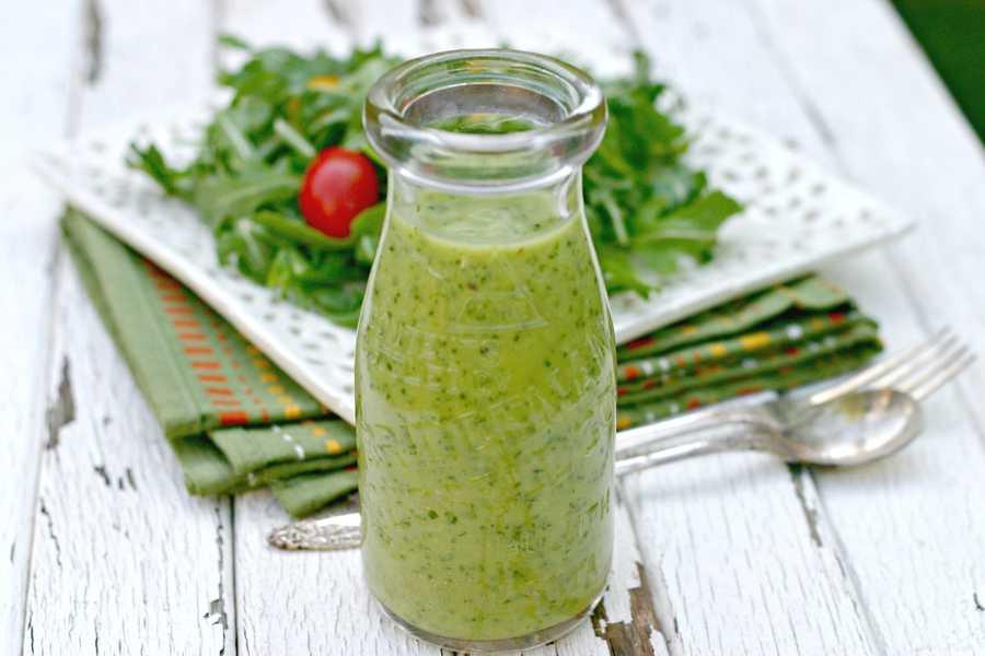 Соус для греческого салата в домашних условиях