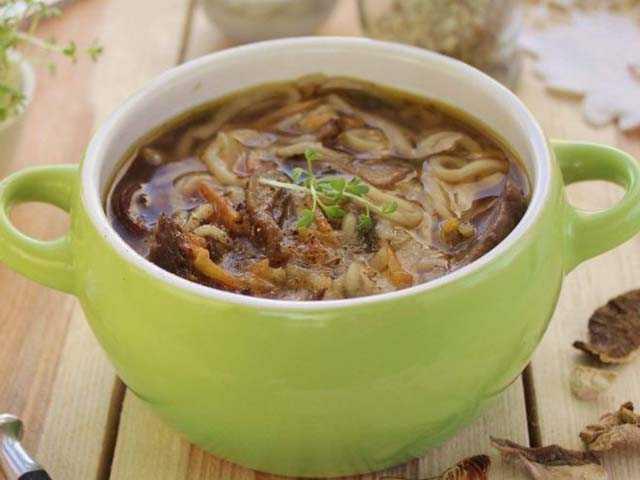 Суп из сушеных опят с картошкой - рецепт блюда из грибов в домашних условиях