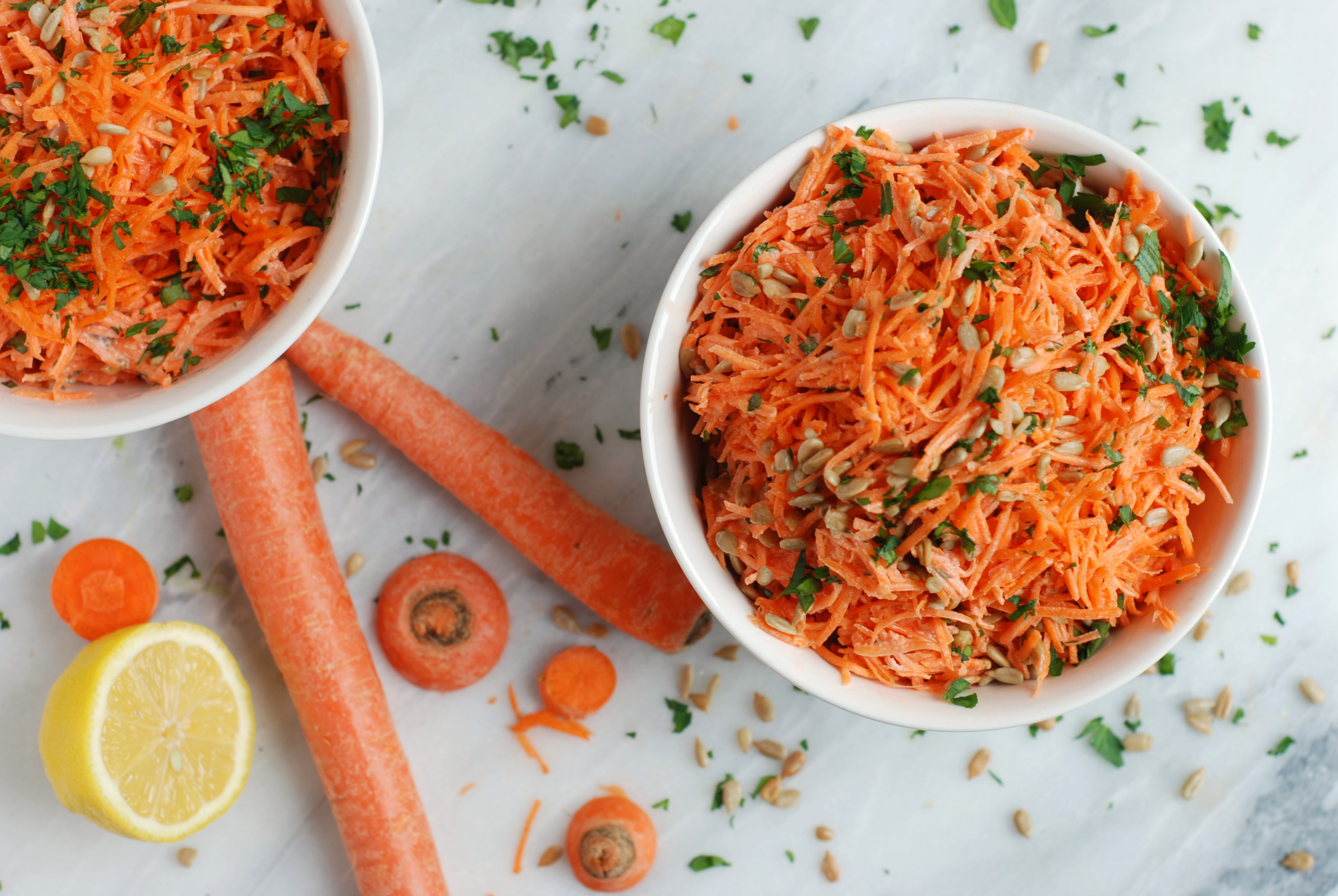 Салат из вареной моркови рецепт с фото пошагово - 1000.menu