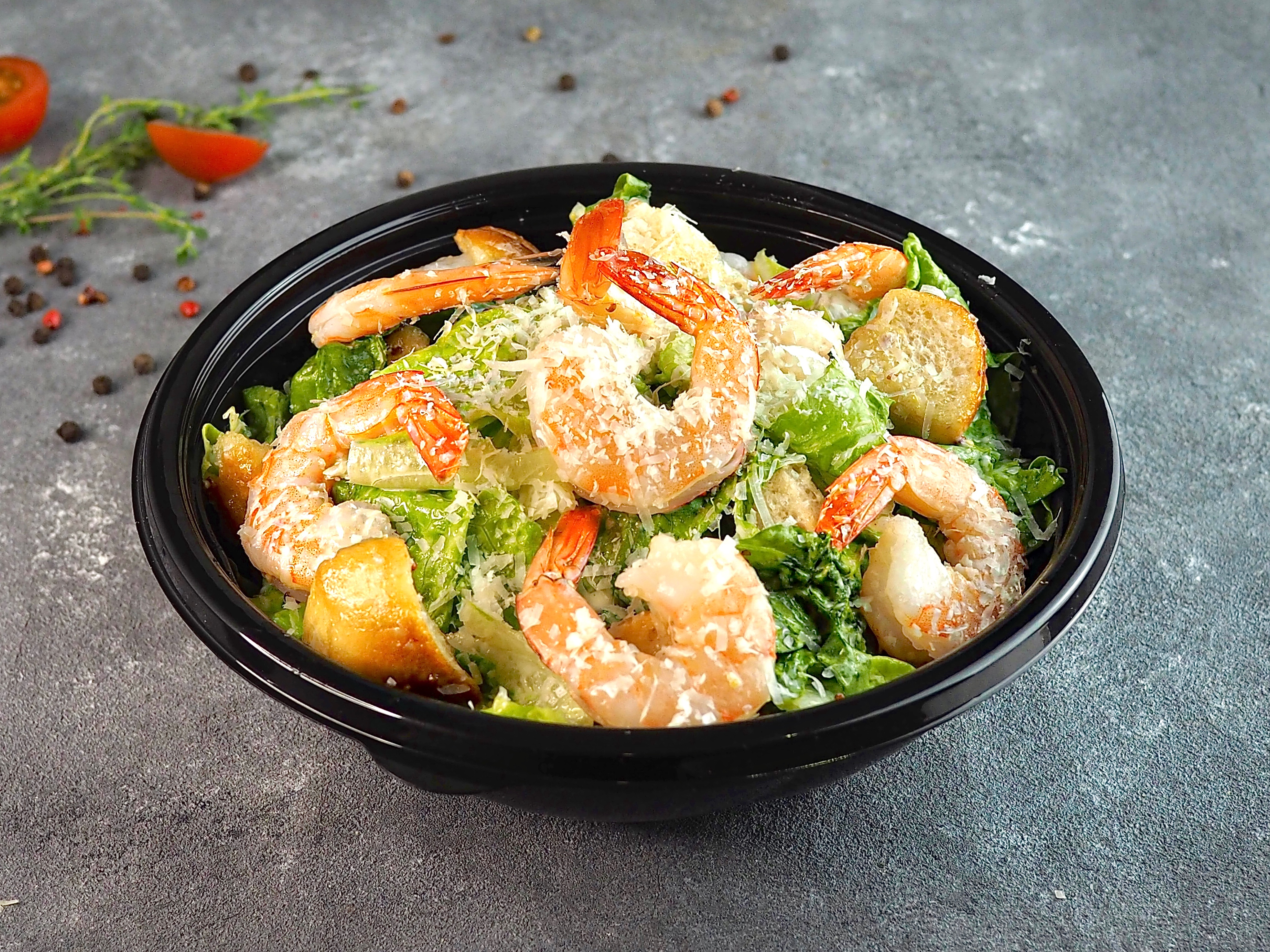 Салат тайский с креветками рецепт с фото