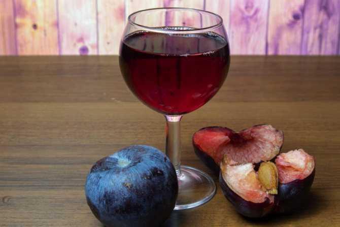 Вино из сливы — простые рецепты в домашних условиях