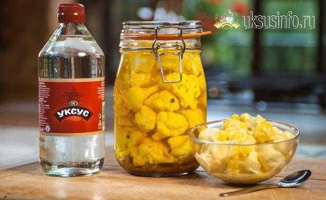 Капуста с яблочным уксусом: простые рецепты заготовок на зиму, способы хранения