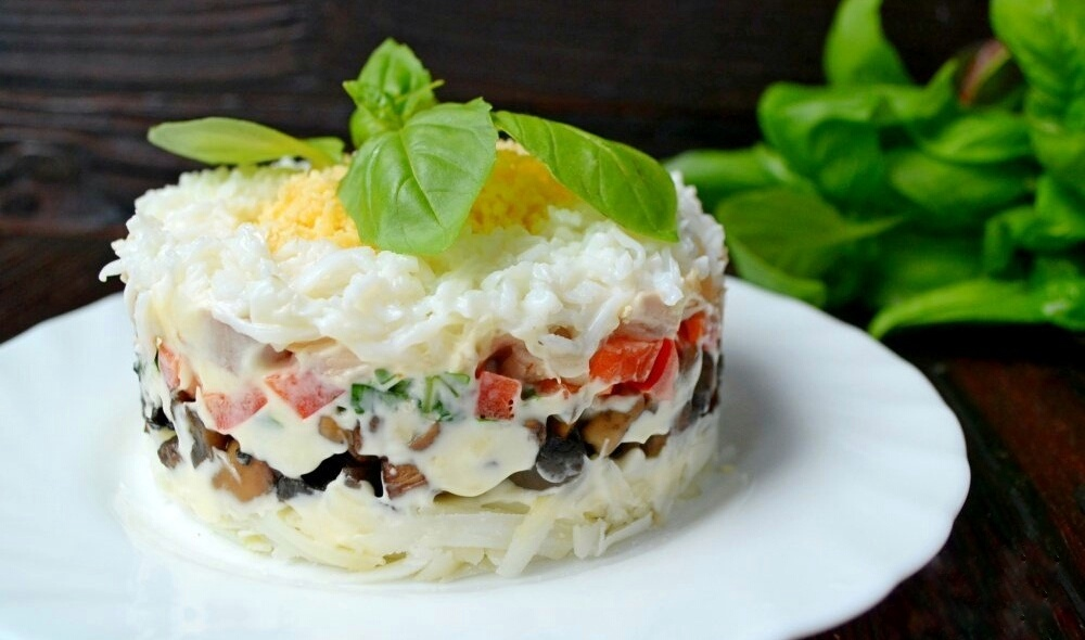 Салат «зимний»: рецепты