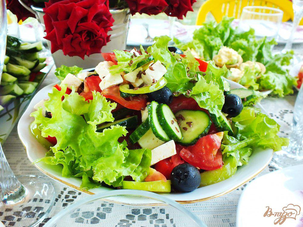 Салат летний - колоритное сезонное блюдо с массой рецептур: рецепт с фото и видео