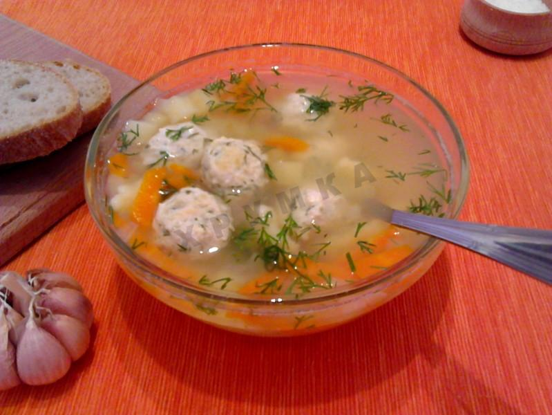 Суп из вешенок с картошкой