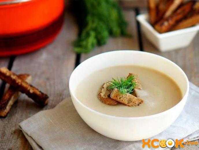 Суп-пюре грибной: как готовить по классическому рецепту