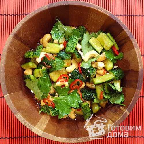 20 вкусных салатов со свежими огурцами для всей семьи