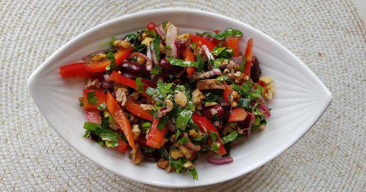 Грузинский салат: рецепты с фото пошагово, видео