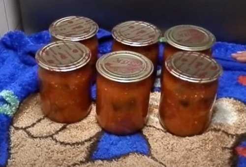 Аджика из баклажанов на зиму 6 оригинальных рецептов