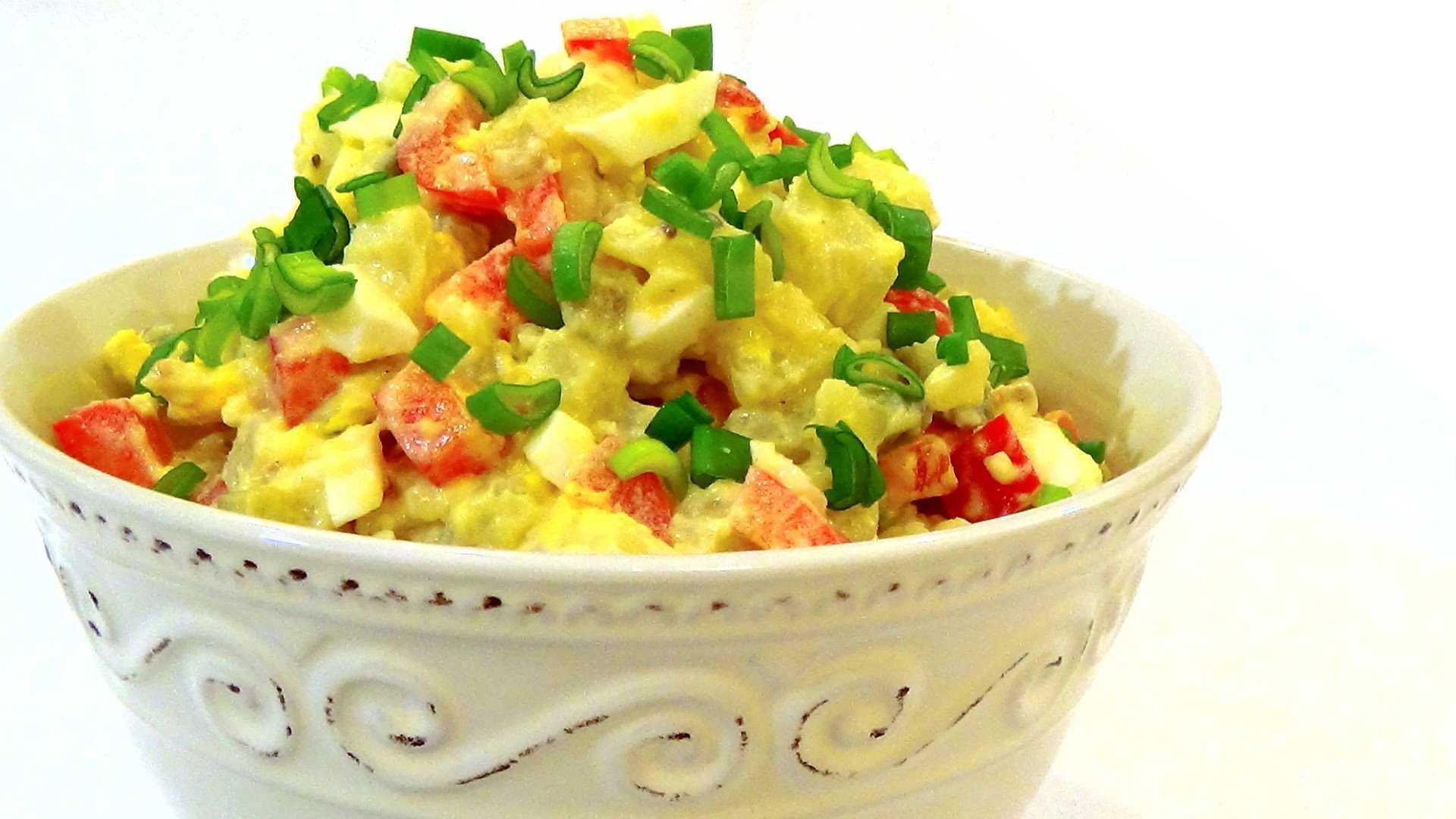 Картофельный салат по-американски, по-немецки - классические рецепты