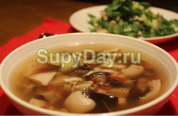 Суп из подберезовиков - большое разнообразие: рецепт с фото и видео
