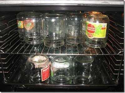 Стерилизация банок в духовке электрической или газовой плиты: советы, видео