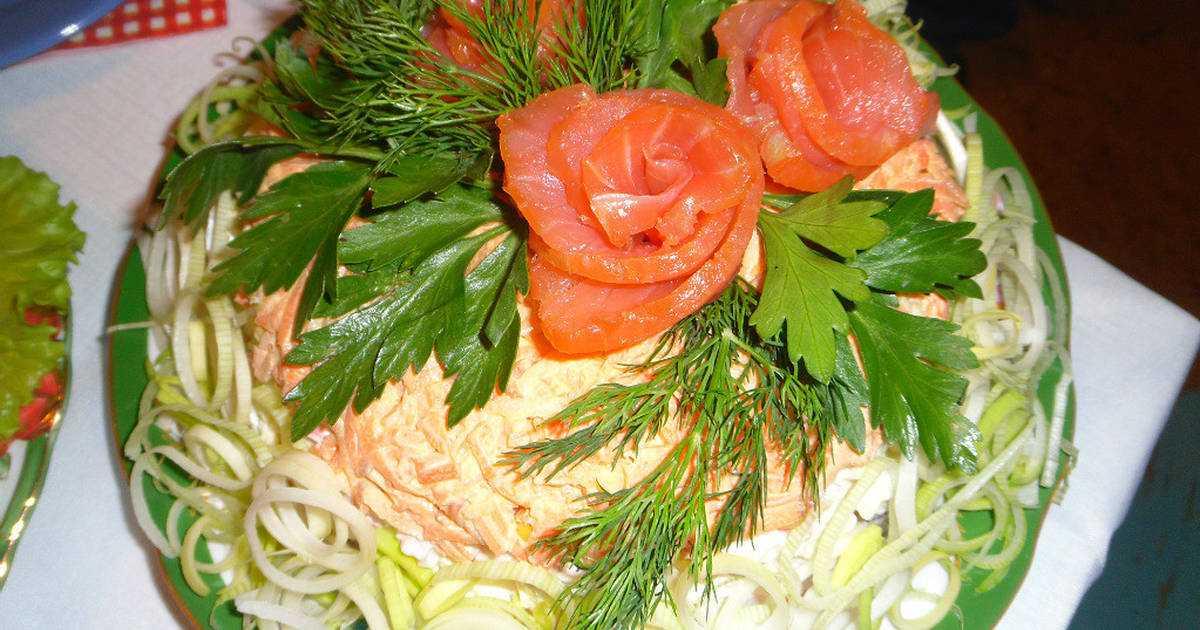 Салат царская шуба с семгой — 5 самых вкусных рецептов | народные знания от кравченко анатолия
