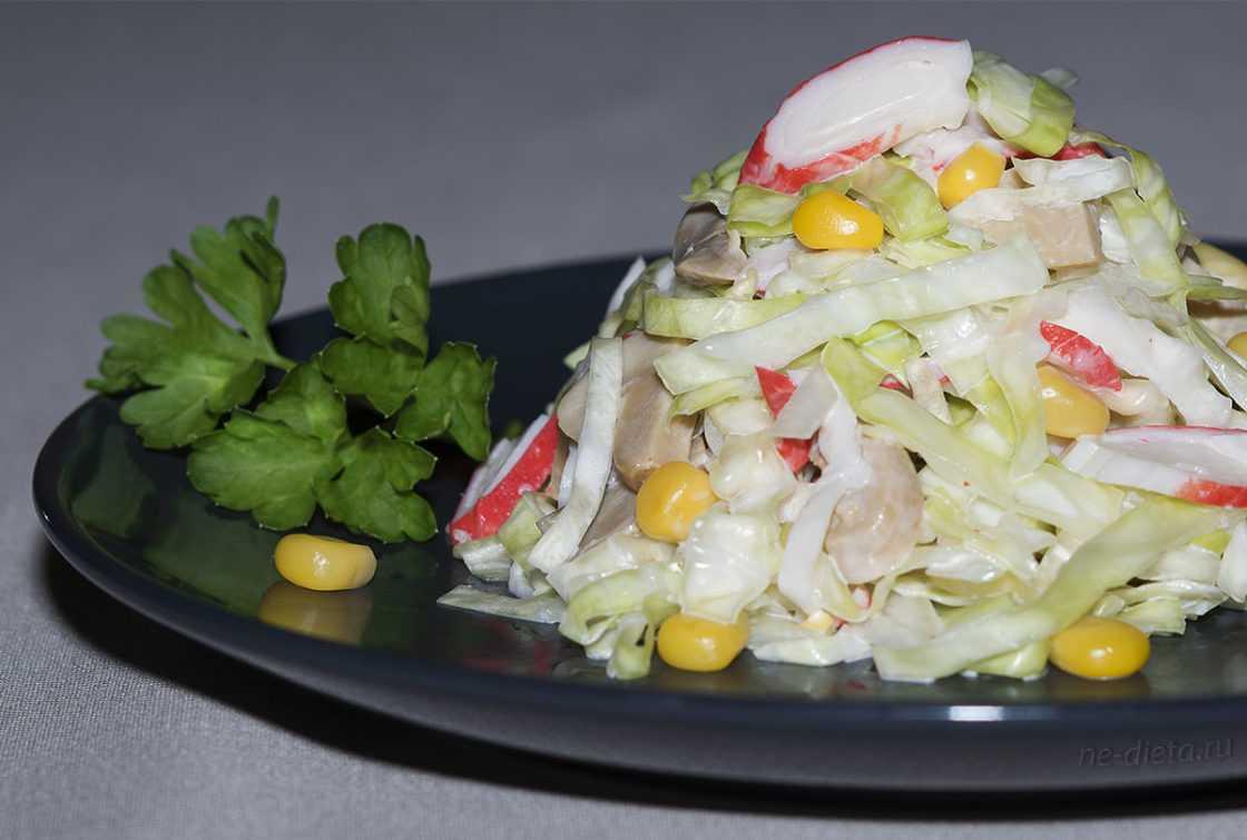 Крабовый салат - 5 лучших классических рецептов