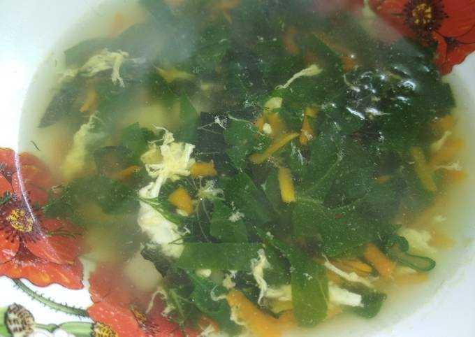 Как приготовить зелёные щи из молодой крапивы — 5 самых вкусных и простых домашних рецептов
